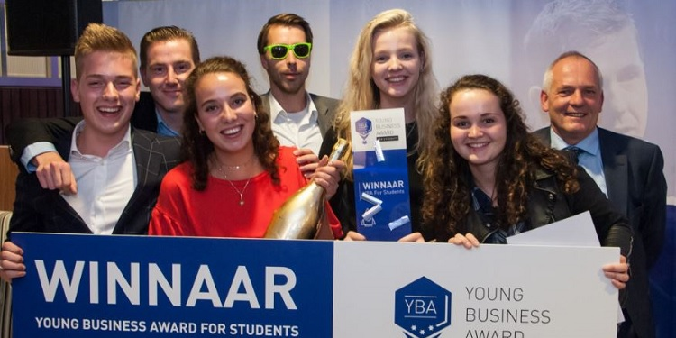 Young Business Award For Students wederom inspirerend feestje